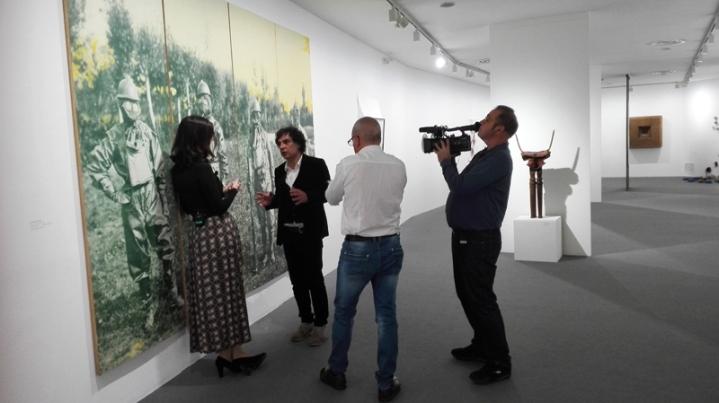 I 5 sensi dell'arte (backstage) - Museo MAN - Leonardo Boscani