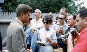 JFK incontra la stampa, 1960