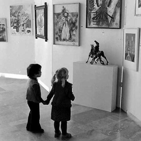 Les amateurs d'art contemporain by Gérald Bloncourt