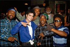 Michael Jackson e i L.A. Crips sul set di 'The Way You Make Me Feel'