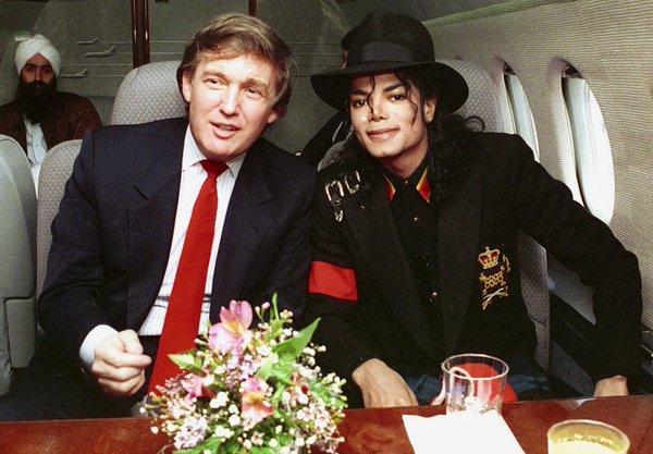 Michael Jackson e Donald Trump