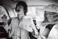 Mick Jagger e Bianca Pérez-Mora Macias il giorno del matrimonio a St. Tropez 1971