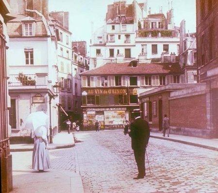 Montmartre Square, Parigi, 1895