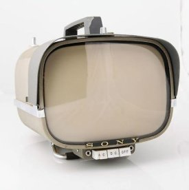 Televisione Sony 8-301W, 1961