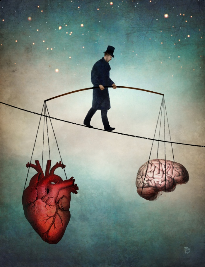 The balance by Christian Schloe