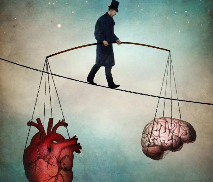 The balance by Christian Schloe