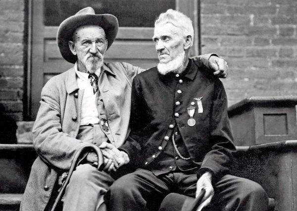 Quando i confederati e l'Unione veterani dimenticarono il passato. c. 1913