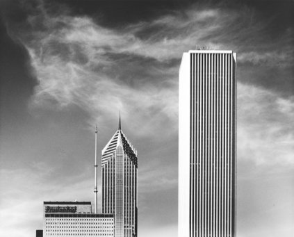 William W. Fuller - Two Buildings, Chicago, Illinois, 1996