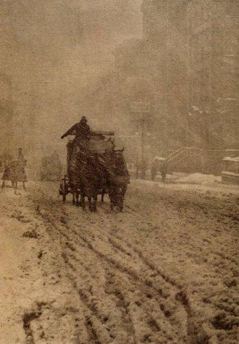 Inverno sulla Fifth Avenue, New York, 1892