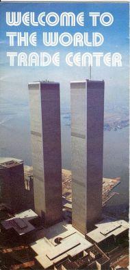 Brochure del World Trade Center, circa 1975