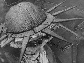 1930, foto dalla torcia della Statua della libertà