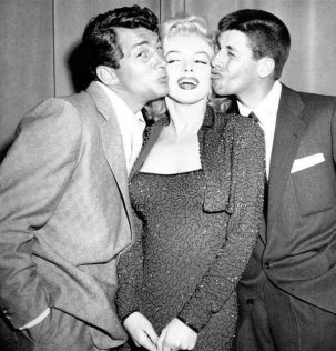 Dean Martin, Jerry Lewis e Marilyn Monroe, 1953