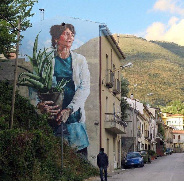 Fintan Magee @Sapri, Italia