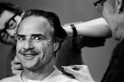 Marlon Brando, sessione di trucco per Il Padrino, New York 1971