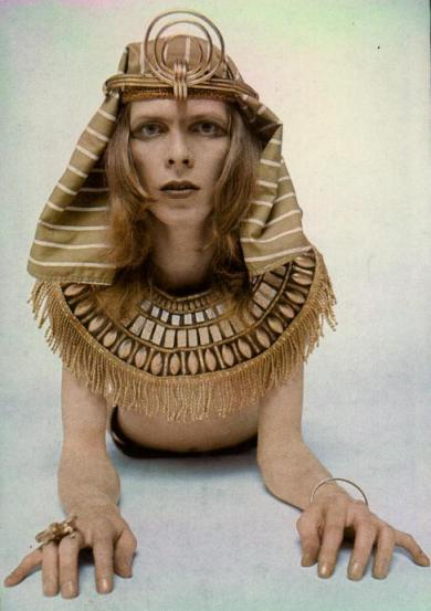 Ritratto di David Bowie, 1970