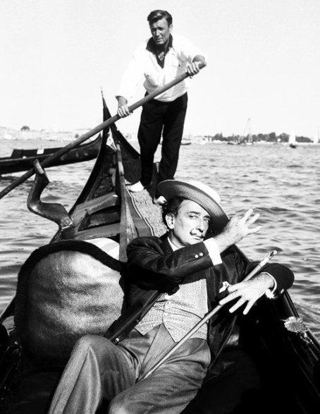 Salvador Dali a Venezia, 1961