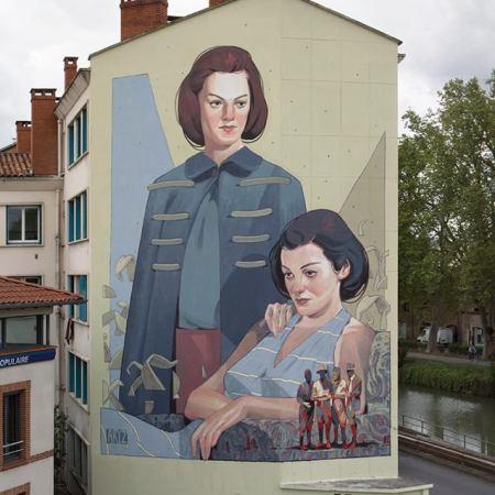 Aryz @Toulouse, Francia