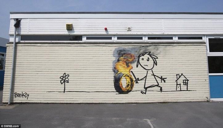 Banksy @Whitchurch, Bristol UK