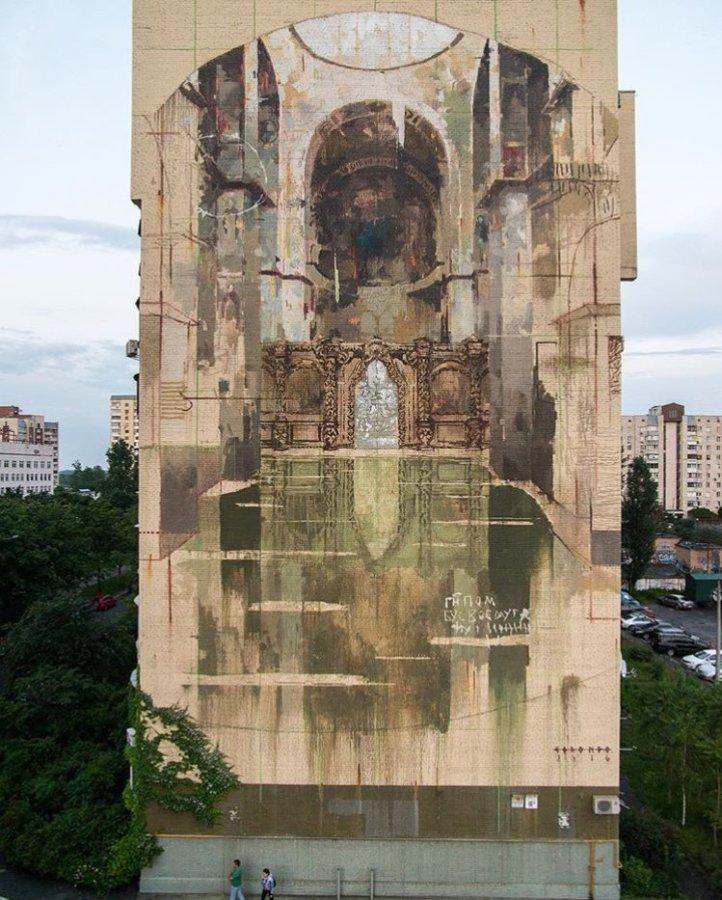 Borondo @Kiev, Ucraina