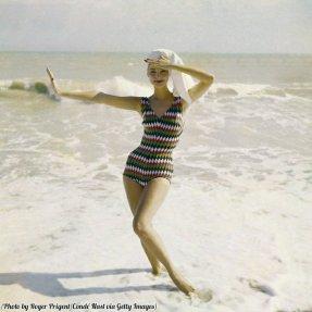 Costume da bagno femminile, Vogue 1957