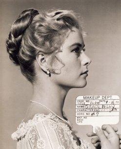 "Test del trucco per Grace Kelly in ""The Swan"""