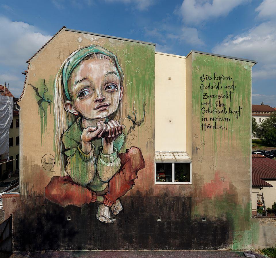 Herakut @Wittenburg, Germania
