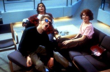 """Scherzi sul set di """"The Breakfast Club"""", 1984"""
