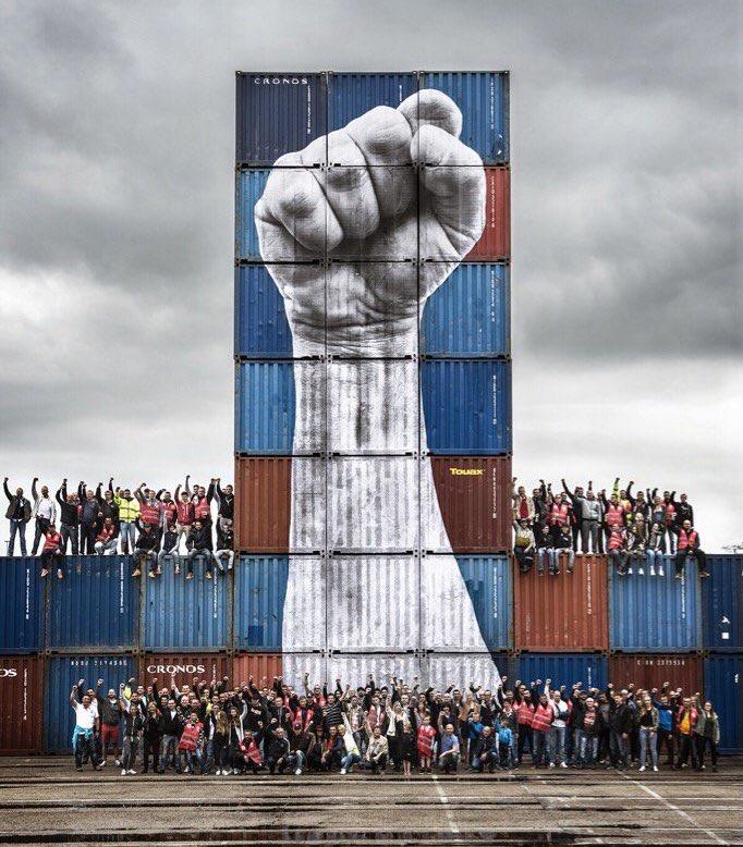 JR @Docker, Le Havre (Francia)