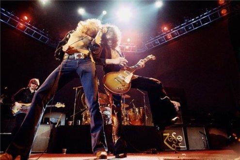 Led Zeppelin, 1975. Forografia di Neal Preston
