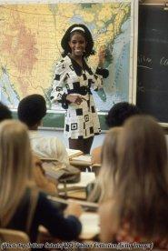 L'insegnante di scuola superiore Sandy Brockman, Denver 1969