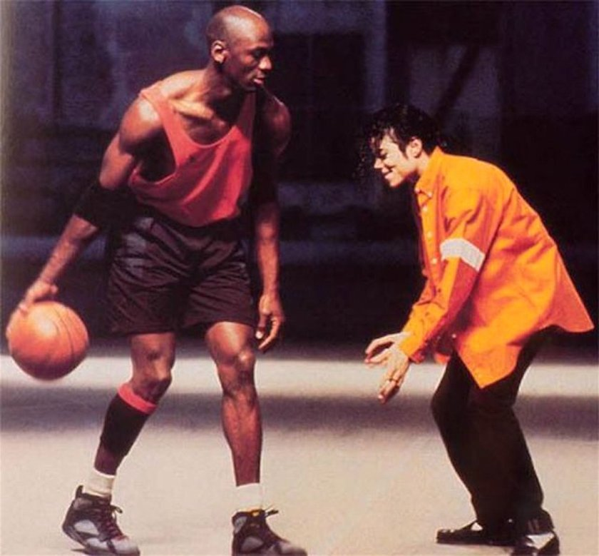 Michael Jordan gioca contro Michael Jackson 1992