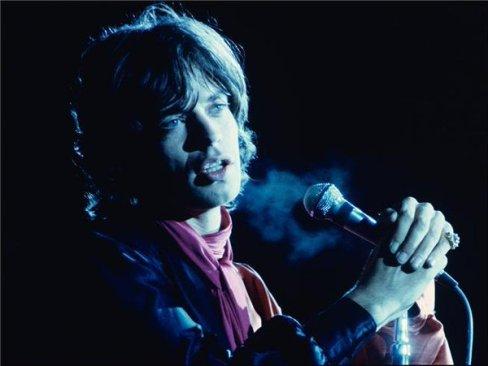 Mick Jagger, 1969. Fotografia di Ethan Russell