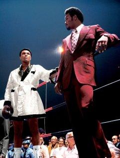 Muhammad Ali e George Foreman prima del secondo incontro di Ali con Jerry Quarry
