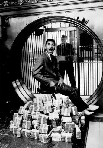 Muhammad Ali. Foto di Howard Bingham