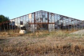 Occhio Riflesso - mostra di Tonino Casula in una vecchia serra abbandonata