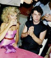 Olivia Newton John e John Travolta, 1978