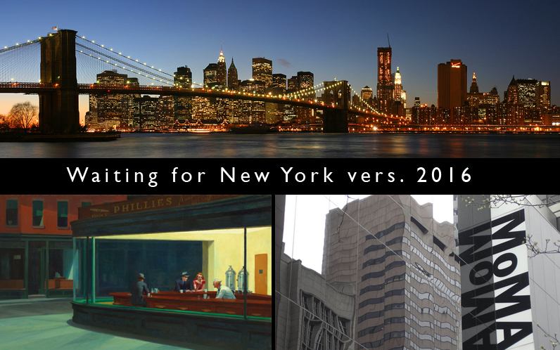 Waiting for New York vers. 2016