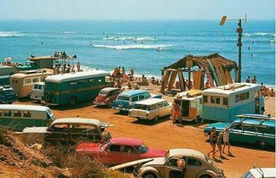 California Beach, 1970