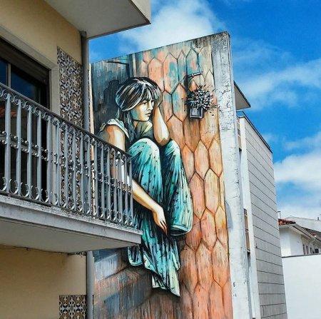 Alice Pasquini @Leiria, Portogallo