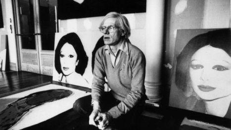 Andy Warhol alla Factory