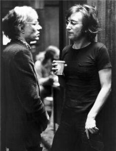 Andy Warhol e John Lennon