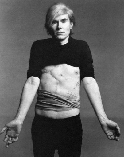 Andy Warhol by Richard Avedon