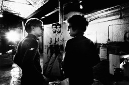 Andy Warhol e Bob Dylan alla Factory