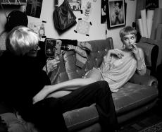 Andy Warhol e Edie Sedgwick