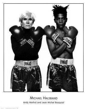 Andy Warhol e Michel Basquiat