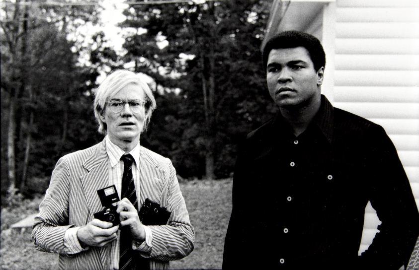 Andy Warhol e Muhammad Ali