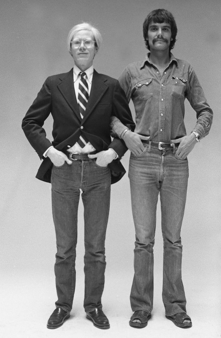 Andy Warhol e Oliviero Toscani, 197