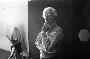 Andy Warhol e Sylvia Miles