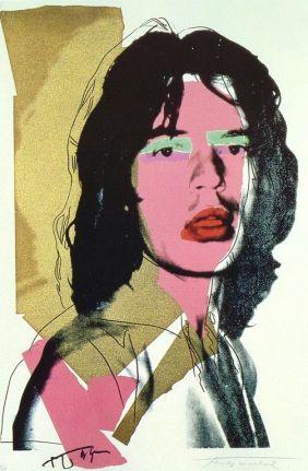 Andy Warhol - Jagger