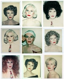 Andy Warhol's self-portraits (1981:82)